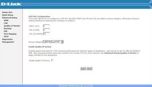 ATM PVC Configuration