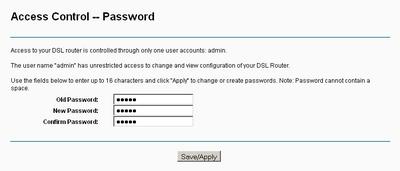 Access Control -- Password