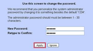 New Ppassword