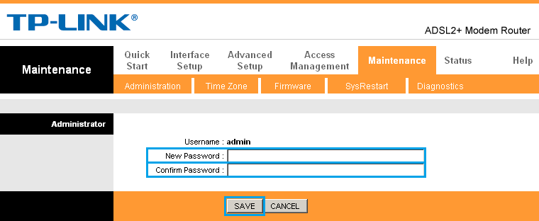 how to change td easyweb password